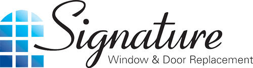 signature window and door replacement logo