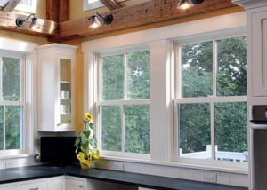 Infinity double hung windows in kitchen 300x214