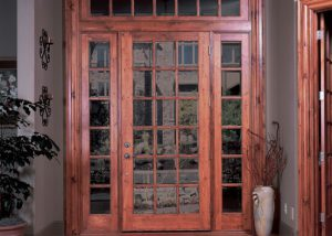 Simpson Door 37015 37705 knotty wine custom transom 300x214