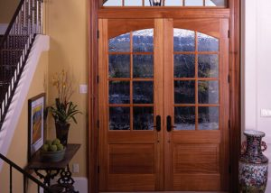 Simpson Door 7628 7638 sapele mahogany custom glass 300x214