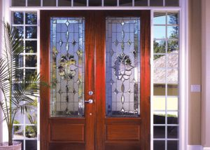 Simpson Doors custom entry doors mahogany 300x214