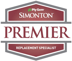 Simonton Premier Dealer Badge Logo