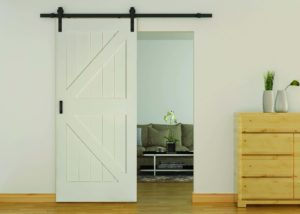 Codel interior door 8401primed matt black barn 300x214