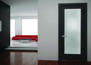 codel interior door White Silk laminated glass 300x214