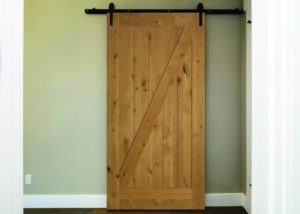 codel interior doors Knotty Adler 4028 barn door 300x214
