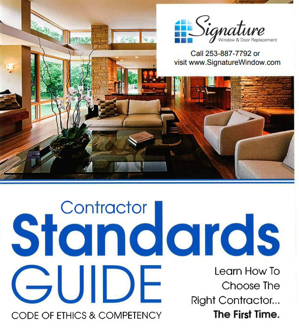 contractor standards guide cover