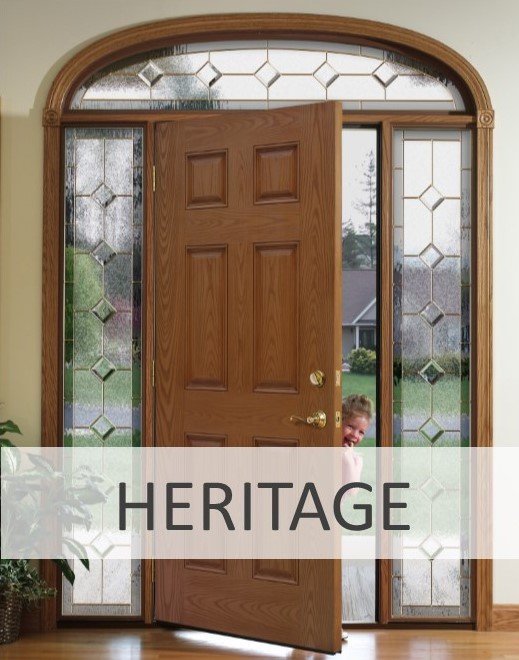 Fiberglass Door icon Heritage