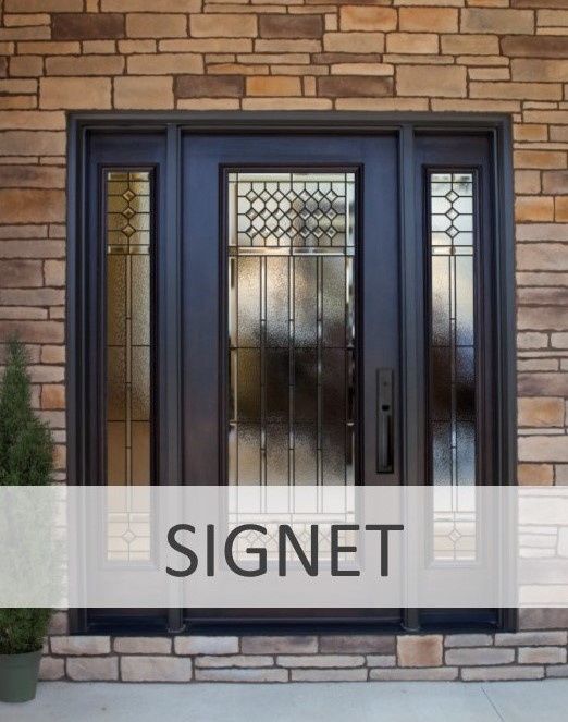 Fiberglass Door icon Signet