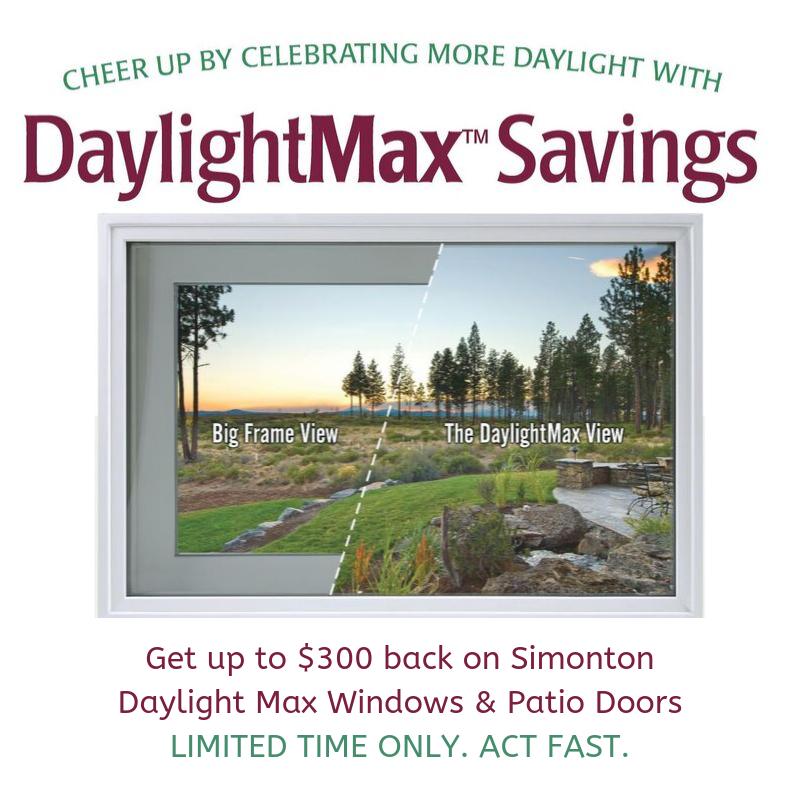 Daylight Savings 2019 Fall Rebate Promo Signature SQ