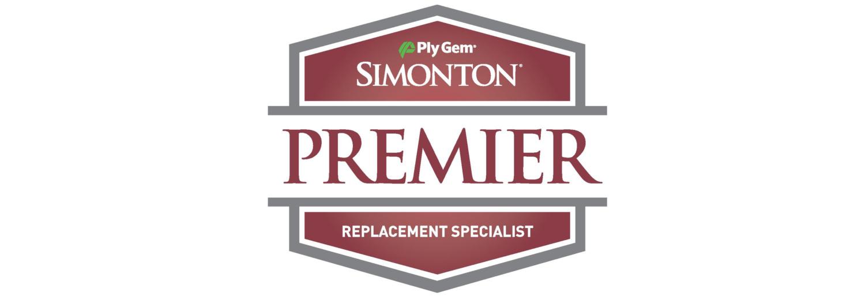 Simonton Premier Dealer Badge Logo
