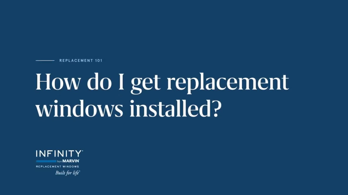 How Do I Get Replacement Windows Installed