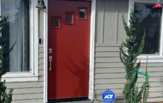 Power ProVia Contemporary Heritage Fiberglass Door exterior Mountain Berry Red 320x202
